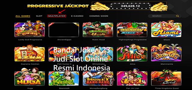 Bandar Joker123 Judi Slot Online Resmi Indonesia